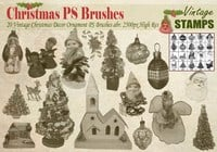 Vintage Christmas PS Brushes