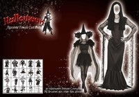 Halloween Female Costume PS Brushes
