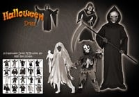 20 Halloween Dress Up PS Borstels abr