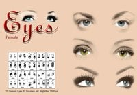Female Eyes Ps Brushes abr.