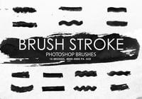 Gratis Brush Stroke Photoshop Borstar