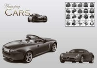 Amazing Cars PS Pensels