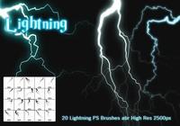 Lightning PS Brushes