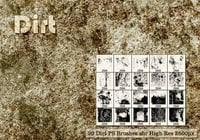 20 Dirt PS Brushes abr. Vol.1