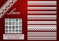 Lace PS Borstels