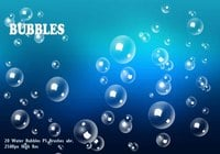 Bubbles d'eau PS Brushes abr.