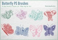 Baby Butterfly PS Brosses abr.