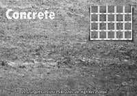 Grunged Concrete PS Borstels abr