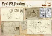 Vintage Post PS Borstels abr.
