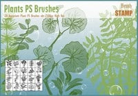 Aquarium Plant PS Brushes