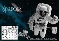 Space PS Borstels abr