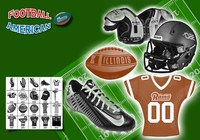 American Football Ps Brushes