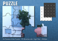 Puzzle Pinsel