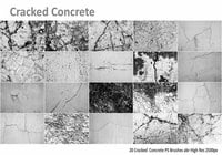 Cracked Concrete PS escovas abr