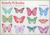 Schmetterling PS Brushes abr.