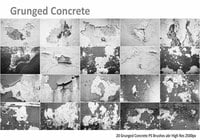 Grunged Concrete PS Pinceles abr