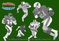 American Football Ps Borstels Vol.2