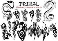 Tribal Dragon PS Brushes Vol.5