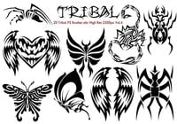 Tribal PS Brushes Vol.4