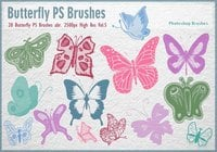 Butterfly PS Brushes abr. Vol.5