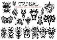 Tribal PS Brushes Vol.7