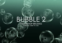Gratis Bubble Photoshop Borstar 2