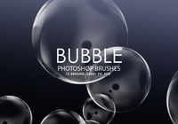 Libre Bubble Pinceles para Photoshop