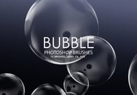 Gratis Bubble Photoshop Borstels