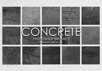 Kostenlose Concrete Photoshop Brushes