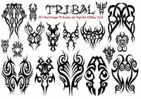 Tribal PS Brushes Vol.8