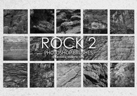 Free Rock Photoshop Pinsel 2