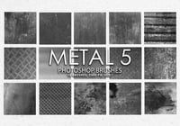 Free Metal Photoshop Brushes 5