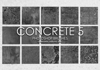 Free Concrete Photoshop Brushes 5