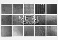 Free Metal Photoshop Brushes