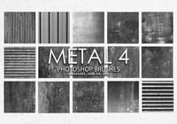 Free Metal Pinceles para Photoshop 4