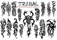 Tribal PS Borstels Vol.12