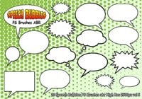 Speech Bubbles PS Pinceles abr vol 5