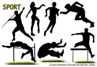 Sport Silhouette PS Cepillos abr