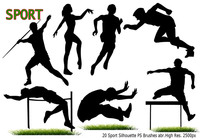 Sport Silhouette PS Borstels abr
