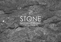 Free Stone Photoshop Brushes
