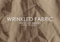 Pincéis Free Photoshop Wrinkled Fabric