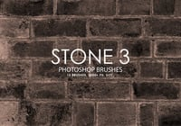 Free Stone Photoshop Brushes 3