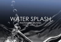 Gratis Water Splash Photoshop Borstels