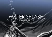 Free Water Splash Photoshop Brushes