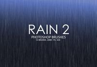 Free Rain Photoshop Brushes 2
