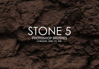 Free Stone Photoshop Brushes 5