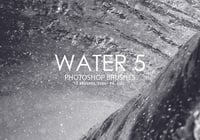 Free Water Photoshop Brushes 5