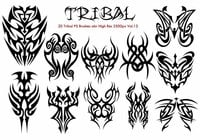 Tribal PS Pinceles Vol.13