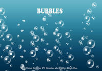 20 Bubbles d'eau PS Brushes abr. Vol.3