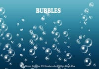 20 Burbujas Agua PS Brushes abr. Vol.3